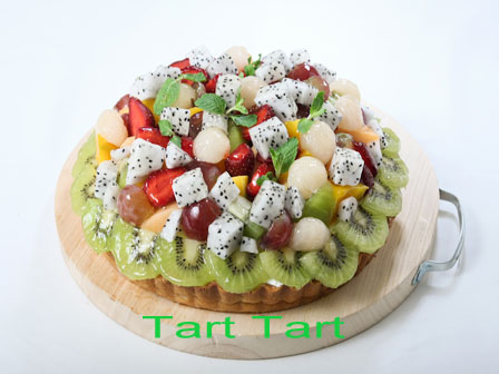 Fruit Pie. Mixed Fruit Tart